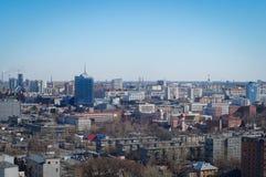 车里雅宾斯克都市风景 免版税库存照片