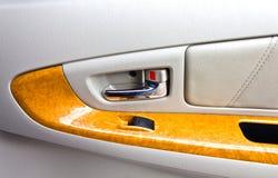 车门内部面板 免版税库存图片