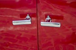 车门把柄 免版税图库摄影