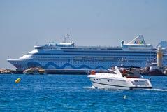 车,客船,小船,马达船,船,海,游艇 免版税图库摄影