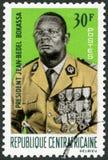 车1966年:展示吉恩Bedel博卡萨1921-1996 免版税库存照片