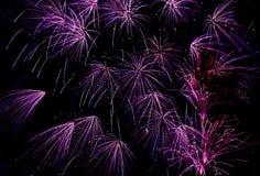 轨道紫色 免版税库存照片