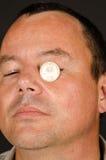 转动一只瞎的眼睛 免版税库存图片