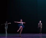 转动古典芭蕾` Austen汇集` 库存照片