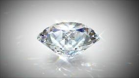 转动和光亮的金刚石