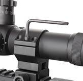 转动步枪视域螺栓的十六进制键 免版税库存照片