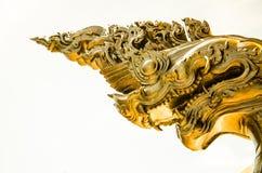 转动的纳卡语亚洲,泰国金黄天空历史遗产whi 免版税库存照片