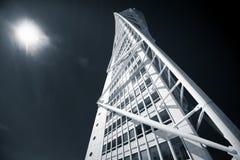 转动的躯干大厦, Malmö,瑞典 免版税库存照片