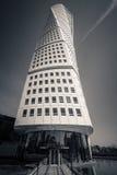 转动的躯干大厦, Malmö,瑞典 免版税库存图片