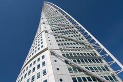 转动的躯干大厦, Malmö,瑞典 库存图片