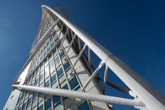 转动的躯干大厦, Malmö,瑞典 库存照片