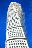 转动的躯干-摩天大楼在马尔摩,瑞典 免版税图库摄影