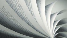 转动的页(圈)希腊书 影视素材