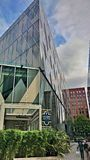 转动的领域曼彻斯特大厦 免版税库存图片