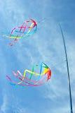 转动的风筝 图库摄影