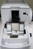 转台式切片机。 免版税图库摄影