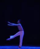 转台式啼声现代舞蹈 库存照片