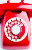 转台式电话拨号盘 免版税库存图片