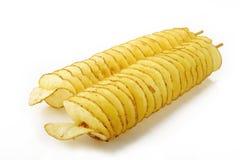 转弯土豆 免版税库存照片