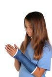 转换女孩年轻人 免版税库存照片