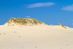 转移沙丘临近波罗的海 免版税库存照片