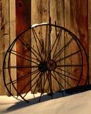 轮子冬天 库存图片