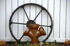 轮子和管子 图库摄影