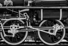 轮子火车 免版税库存图片