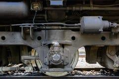轮子火车 库存照片