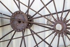 轮子的轮幅 免版税库存照片