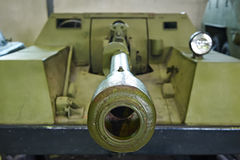 轮子自走枪KSP-76 免版税库存照片