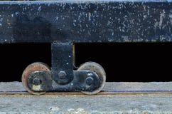 轮子门 库存图片
