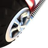 轮子, 3D 免版税库存照片