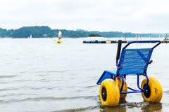 轮椅和体育 免版税库存照片