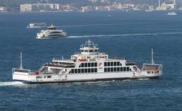轮渡在伊斯坦布尔 免版税图库摄影