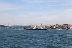 轮渡在伊斯坦布尔 免版税库存照片