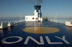 轮渡意大利撒丁岛 库存照片