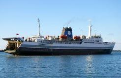 轮渡海运 库存图片