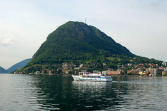 轮渡瑞士 库存照片