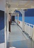 轮渡甲板 免版税库存照片