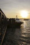 轮渡码头垂直 库存照片