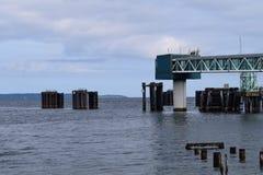 轮渡码头 库存图片