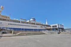 轮渡纪念船Mashu maru日本 库存照片
