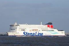 轮渡线路船stena 图库摄影