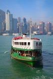 轮渡香港 图库摄影