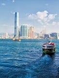 轮渡香港 免版税库存图片