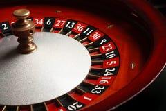 轮盘赌在赌博娱乐场 免版税库存图片