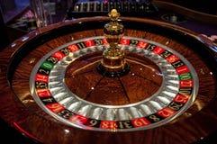 轮盘赌桌 免版税库存图片