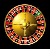轮盘赌的赌轮 免版税库存照片