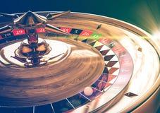 轮盘赌维加斯比赛概念 免版税库存图片